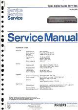 Philips Original Service Manual für Digital Tuner 70 FT 455