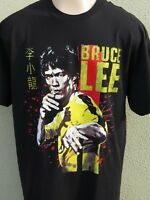 BRUCE LEE T-Shirt Karate Kung Fu Martial Arts Yellow Jumpsuit Fist Of Fury Movie