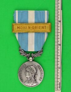 French MOYEN-ORIENT medal for military operations during the 1956 Suez Crisis