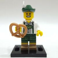 "LEGO Collectible Minifigure #8833 Series 8 ""LEDERHOSEN GUY"" (Complete)"