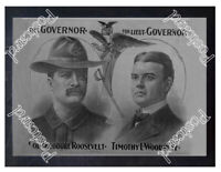 Historic Theodore Roosevelt Campaign for 1898 Advertising Postcard