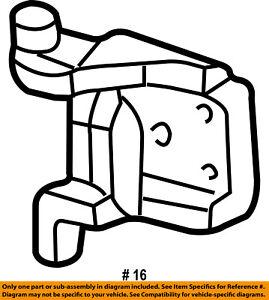 FORD OEM-Door Hinge-Upper 6L5Z1022800B