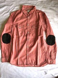 NEW Scotch & Soda Men's Long Sleeve button down dress shirt *PINK MED-LRG-XLRG