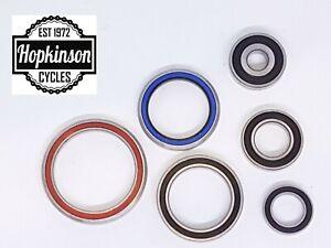 Sealed Bearings - Bicycle Bottom Bracket Headset Crank Wheel Hub Bike Cycle