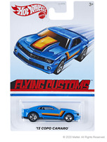 Hot Wheels Flying Customs 13 Copo Camaro