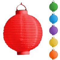 LED Lampion Laterne versch. Farben Ø 20 Gartenlampion Partylampion f Grill Party