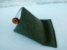 Handmade mobile holder cell khaki pillow Ipad cushion stand coworker gift