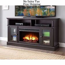 Electric Fireplace 70 TV Stand Entertainment Center Heater Media Console Mantel