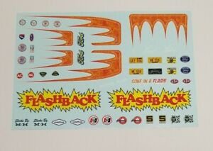 AMT 1/25 1957 FORD FAIRLANE HARDTOP DECAL SHEET
