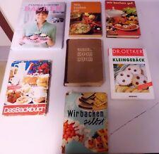 Vershiedene Bücher rund um Kochen und Backen