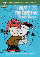 I Want a Dog for Christmas, Charlie Brown (Rem New DVD