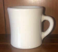 Vintage Victor Restaurant Dinner Ware Heavy Coffee Mug White USA