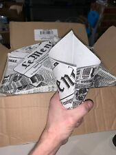 New listing 1,263 Cones! -Massive Lot- Nut Serving Cone Paper Bag -Very Cool Magazine Look-