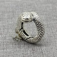 Sterling Silver Snake Lobster Claw Trigger Clasp for Bracelet Necklace