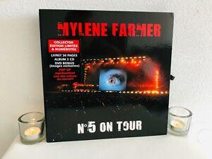 Mylene Farmer N°5 On Tour Coffret Collector Complet Bon Etat