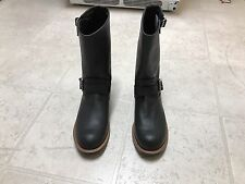 Red Wing Engineer Boots Black Leather Motorcycle 2990