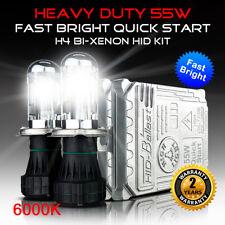 6000K 55W Heavy Duty Fast Bright H4 Bi Xenon 9003 Dual Beams H4-3 HID Kit