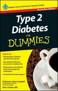 Type 2 Diabetes for Dummies, Paperback by Campbell, Lesley; Rubin, Alan L., L...
