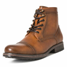 Mens Queensberry Albert Smart Leather Business Work Office Ankle Boots UK 6-14