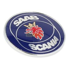 SAAB CLASSIC 900 85-93my SAAB SCANIA Cofano Badge 4522884 NUOVO ORIGINALE SUFFOLK