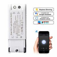 Smart Wi-Fi Light Switch Dimmer Wireless Controller For Alexa & Google Home UK!!