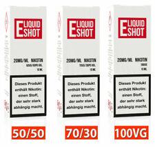 Nikotin Shots 20mg ⭐ 50/50 - 70/30 - 100VG ⭐ Nikotin Shot Nikotinshots E Liquid
