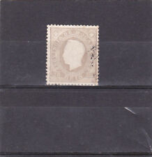 MOZAMBIQUE D. LUIS I STAMP 25 REIS , VARIETY PERF. 13,5 (1886)
