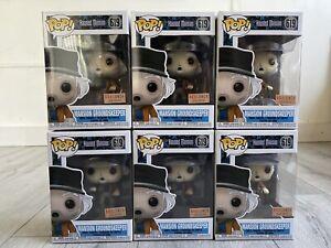 Disney HAUNTED MANSION Funko POP! MANSION GROUNDSKEEPER #619 BoxLunch InHand