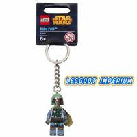 LEGO Keyring - Boba Fett - holidays minifigure Star Wars FREE POST