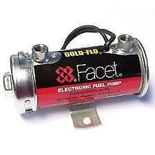 Facet Fuel Pump Competition Red Top Electric Brisca/Autocross 480532 6.5-8 PSI