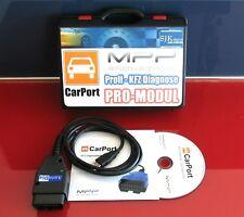 OBD2 VCD K+CAN UDS Diagnose Interface für VW AUDI + CarPort Software PRO-MODUL +