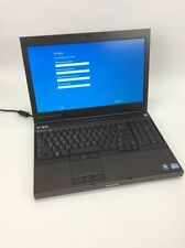 Dell Precision M4700 I7-3520M 2.9GHZ 8GB DDR3 480GB SSD WINDOW 10 Pro # U444766