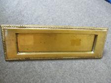 Brass Mail Slot