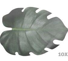 10 Stk MEGA Monstera Blätter 43x32cm Tischdeko Untersetzer Tischset Namenskarten