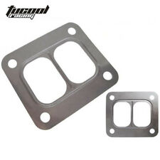 10PCS T4 Turbo Turbine inlet divided gasket Stainless Steel For T04 turbo inlet