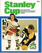 1972 Sportscope Mini-Book National Hockey League magazine, The Stanley Cup ~ EX