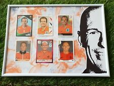 6x Panini ALL Football WC EC 2004-2014 Arjen Robben framed gerahmt Bayern Oranje
