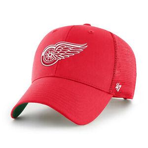 NHL Detroit Red Wings Cap Basecap Baseballcap Branson Trucker rot 194602375113