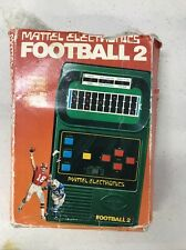 MATTEL Electronics Football 2 1978 Complete with Box Rare Vintage No. 1050 Works
