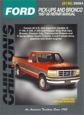 1987-1996 Ford F150 F250 F350 SuperDuty PickUp Bronco Chilton Shop Manual 8284