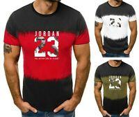 Men's Michael Air Legend 23 Jordan T-Shirt Men Sport shirt Tops Fitness Tumblr