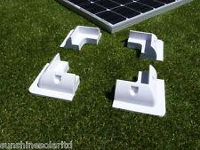 4 Solar Panel Plastic Corner Mounts