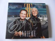 ROBY FACCHINETTI E RICCARDO FOGLI CD INSIEME AUTOGRAFATO NUOVO!