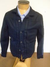Levi's Made & Crafted Japanese Cotton Dark Wash Truckers Jacket NWT Medium $248