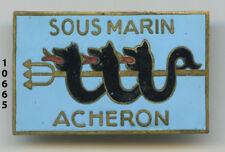 Insigne marine , sous marin ACHERON