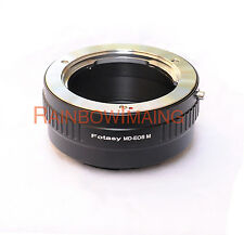 Minolta MD MC Rokkor Lens to CANON EOS M Mirrorless Camera M M2 M3 M10 Adapter