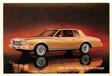 1980 Chevrolet Monte Carlo Sport Coupe Adv. P/C