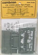 Cambrian C81. LNER 6-Plank Open Wagon Kit.(00)