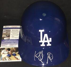Keibert Ruiz Dodgers Autographed Signed FS Souvenir Helmet JSA Debut COA 1