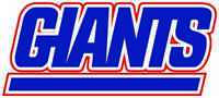 NEW YORK GIANTS Vinyl Decal / Sticker ** 5 Sizes **